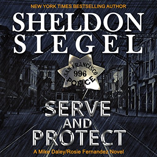Serve and Protect audiobook cover art