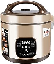 Smart Rice Cooker Multi Stew Saute 5L Digital Programmable Food Steamer Low Removal Sugar Grain Maker Stainless Steel Doub...