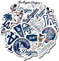 Dodgers Party - 19 PCS Los Angeles Aesthetic Dodgers Vinyl Waterproof Stickers Pack for Water Bottle Laptop Luggage Guitar Skateboard Car Window from LUMASERIES