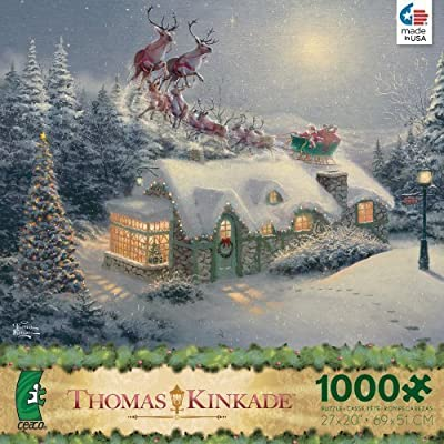Thomas Kinkade Dash Away All 1000 Piece Puzzle by Ceaco by Ceaco