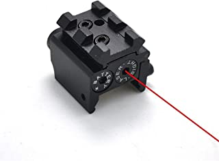 IRON JIA'S Tactical Mini Pistol Red Dot Laser Adjustable Compact Sight Fit Rail Mount 20mm Hunting Scopes Airsoft