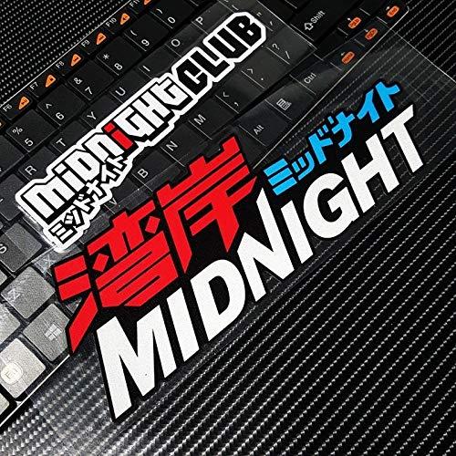 BLOUR G116 Midnight Club Modifica Auto giapponese JDM Street Racing Adesivi per Auto e Decalcomanie Adesivi per Porte Auto impermeabili