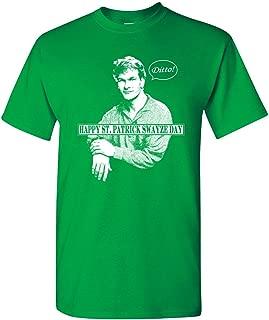 Strange Cargo Men's Patrick Swayze Funny St Patrick's Day Irish T-Shirt
