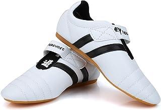 Taekwondo Shoes, Men Women Kids Martial Art Shoes Karate Kung Fu Tai Chi Shoes Comfortable Lightweight Taekwondo Training ...