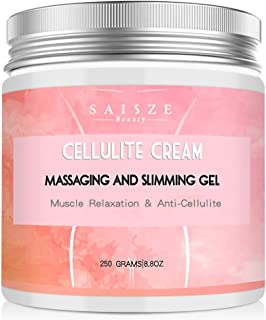 SAISZE Anti Cellulite Body Slimming Cream, Hot Cream Treatment & Weight Loss,Belly Fat Burner for Women and Men, 8.8oz. …