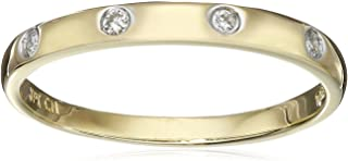 10k Gold Diamond Accent Ring