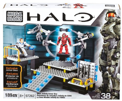 Mega Bloks 97262 - Halo UNSC Infinity Amor Bay, Konstruktionsspielzeug