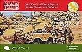 Plastic Soldier Company - WW2 Alemán SdKfz 231 8 rad coche blindado (3) (escala 1/72)