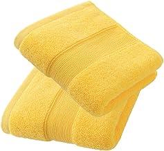 مناشف يد من قطعتين 700 جم/م2 - قطن 100% (14 × 30 بوصة) للحمام والمطبخ والجمالي والمنتجعات الصحية وصالة الألعاب الرياضية وم...