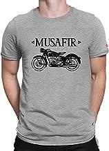 PrintOctopus Graphic Printed T-Shirt for Men & Women  Travel T-Shirt   Musafir T-Shirt   Hindi Quote T-Shirt   Half Sleeve T-Shirt   Round Neck T Shirt   100% Cotton T-Shirt   Short Sleeve T Shirt
