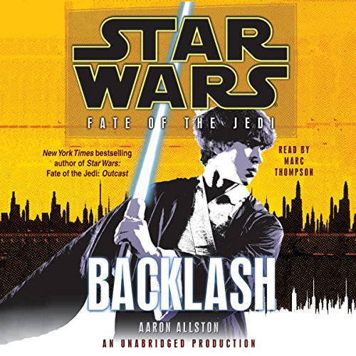 Star Wars: Fate of the Jedi: Backlash cover art