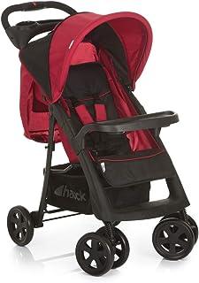 Hauck Shopper Neo Ii, One-Hand Fold Stroller, Black/Red, 149096