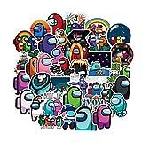 10/50 / 100PCS juego entre nosotros for el parachoques for los niños Vehículo espacial de dibujos animados Decal pegatinas for bricolaje ordenador portátil del teléfono de escritorio Maleta guitarra P