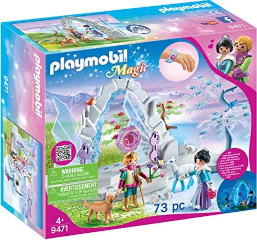 PLAYMOBIL Magic Portal Cristal Mundo Invierno Efecto
