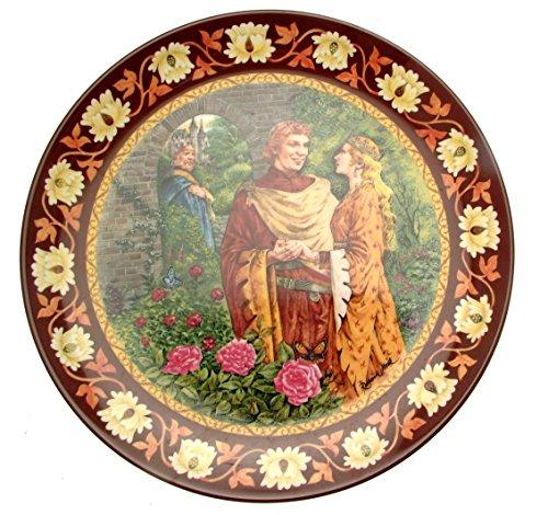 Wedgwood Bradex The Legend of King Arthur Lancelot und Guinevere Teller