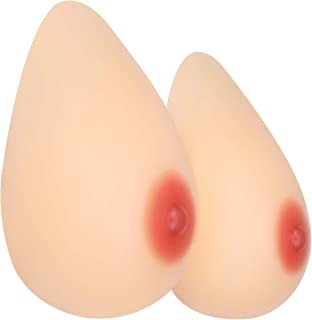 Silicone Breast Forms Self Adhesive for Crossdresser Cosplay, Mastectomy Patient and Fake Prosthesis