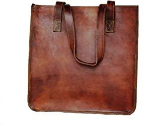 Leather Vintage Gypsy bag Vintage tote bag shoulder bag Women leather top handlebags Leather bags for women