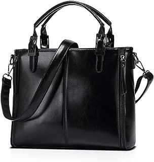 Trendy Black Shoulder Bag For Women Fashion Leather Ladies HandBag Casual Business Messenger Bag