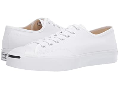 Converse Jack Purcell 1st in Class Ox (White/White/Black) Classic Shoes