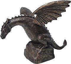 Harts utomhus dekoration vatten spray drake simulering dinosaur flygande drake trädgård dekoration dekoration, lämplig för...