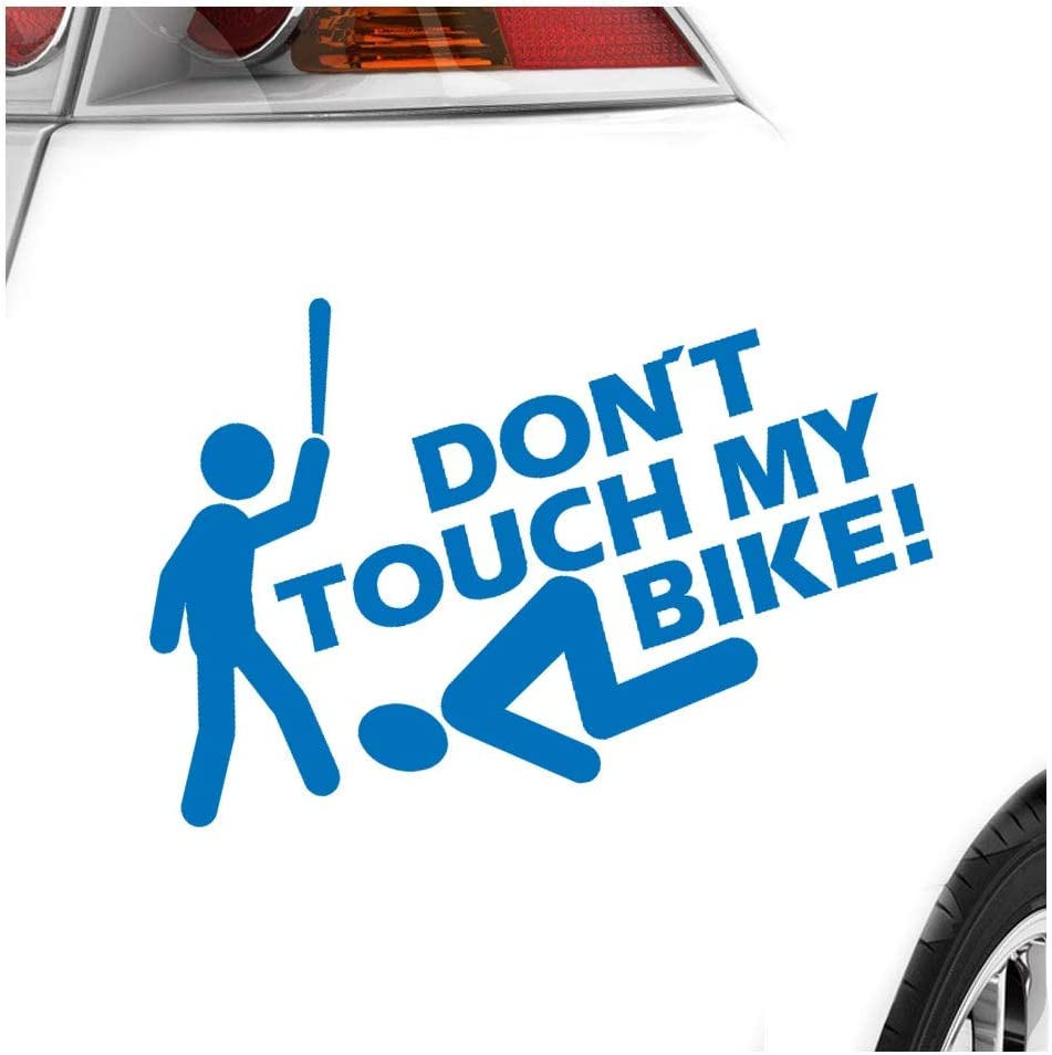 Dont touch my Bike! Autoaufkleber Sticker Bomb Decals Tuning Bekleben KIWISTAR Aufkleber