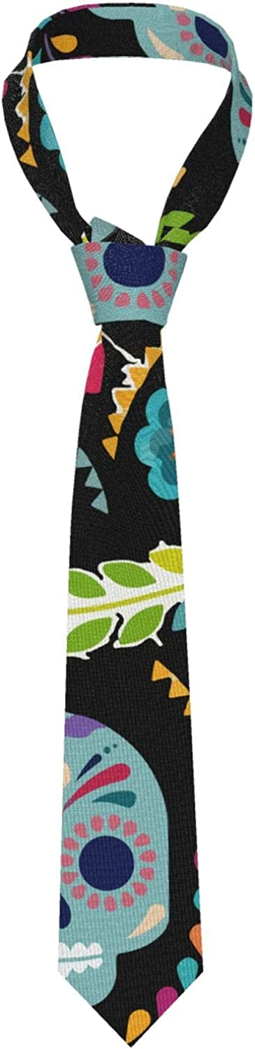 Men's Tie Fashion Necktie, Perfect For Casual Formal Business Prom Wedding