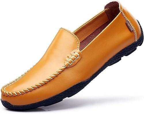 Les hommes les chaussures en en en cuir,brun clair,quarante - trois e40