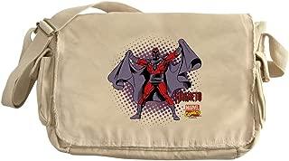 CafePress Magneto X Men Unique Messenger Bag, Canvas Courier Bag