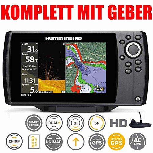 Humminbird Helix 7Chirp GPS Di G2Down Imaging Echolot Combo montaje...