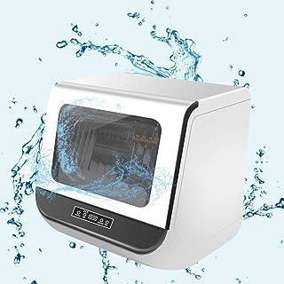RAPLANC Libre de la instalación lavavajillas de Uso doméstico Escritorio lavavajillas lavavajillas Mini-lavavajillas doméstico