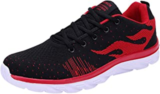VonVonCo Shoes Elastic Durable Yoga Surf Sports Brogues Fashion Men's Mesh Breathable Anti-Slip Cushion Outdoor Running Sneaker