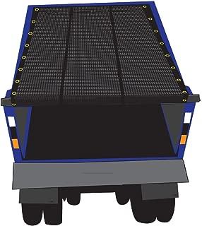 XTARPS 7' x 16' Premium Dump Truck Tarp Vinyl Mesh Tarp Fits Most Manual or Electric Dump Truck System