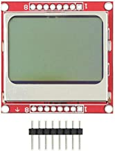 DEVMO 8448 84x48 LCD Module White backlight PCB Compatible With 5110 Arduino Raspberry pi USA