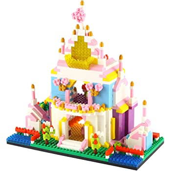 Chateau Princesse, Jeu Construction Enfant Puzzle 3D Loisirs