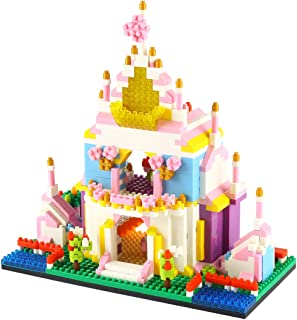 Larcele 988 Pieces Mini Building Blocks Building Toy Bricks KLJM-02 (Princess Castle)