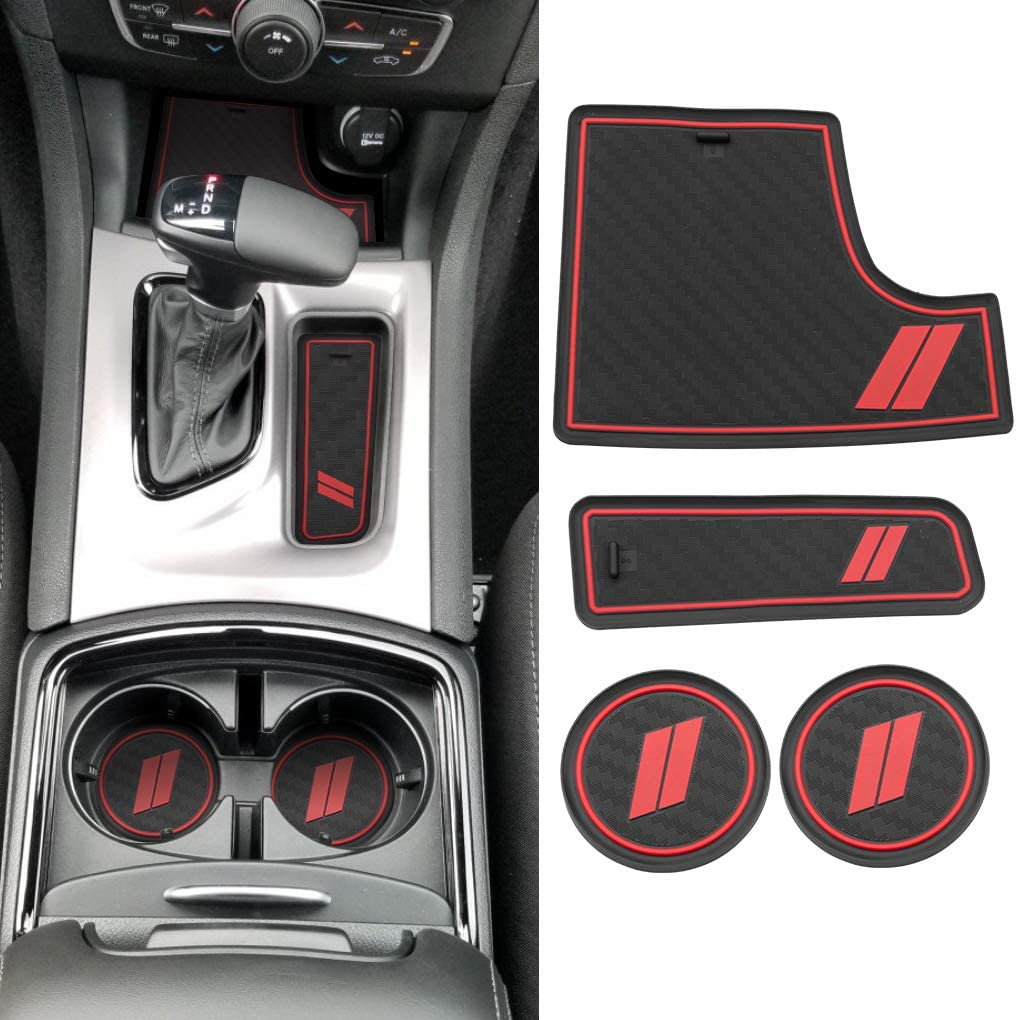 JINZHAO Anti dust Mats for Dodge Charger Safety and trust Recommendation 2018 2017 2015 2016 201