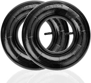 HIAORS 2Pcs 145/70-6 Tire Inner Tube Straight Valve Stem for Kymco 90cc 4 wheeler Atv Lawn Mowers Mini Chopper Go Kart 145X70-6 450/530-6 Hand Trucks Parts