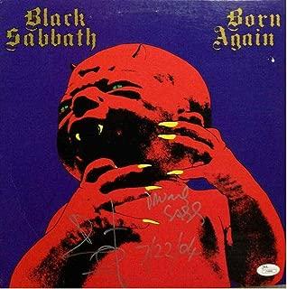 black sabbath autographed memorabilia