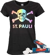 Pauli FCSP T-Shirt Shirt Oberteil Frauen Damen Aufdruck Totenkopf Kollektion 2020 Leila lila Flieder violett FC St