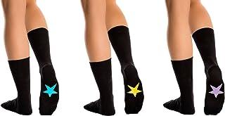 Symbolsocks, 3 Parejas Classic Calcetines, Color Negro, Hombres y Mujeres (unisex), varios Diseños