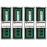 QUMOX 16GB(4x 4GB) DDR3 1333 PC3-10600 (240 PIN) DIMM MEMORIA