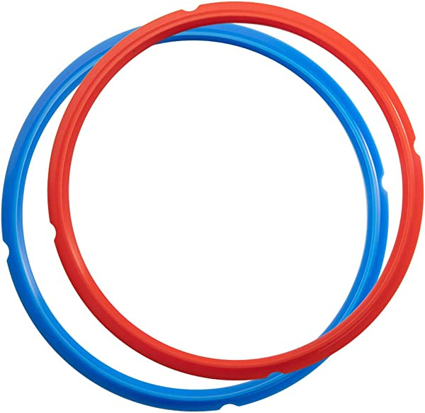 Goldlion Sealing Ring Compatible With Ninja Foodi 6 5 Quart And 8 Quart Silicone Gasket Accessories Rubber Sealer Replacement For Pressure Cooker And Air Fryer Pack Of 2