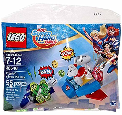 Lego Super Hero Girls Krypto Saves the Day Polybag Set 30546