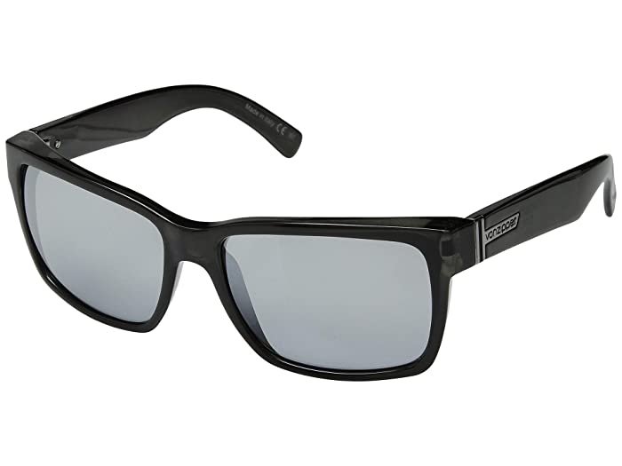 VonZipper Elmore (Smoke/Silver Chrome) Sport Sunglasses