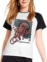 Dirty Heads-Octopus Women Music Band Shirt Classic Cotton Short Sleeve Round Neck Shirt