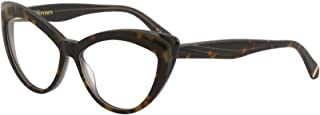 Zac Posen Women's Eyeglasses Verushka HV Havana Full Rim Optical Frame 52mm