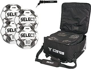 SELECT Numero 10 Soccer Ball Package(Soccer balls,  Ball Bag & Hand Pump)