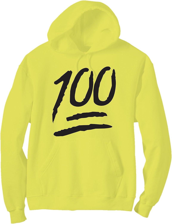 zerogravitee 100 Bright Neon Adult Pullover Hoodie - 6 Bright Colors