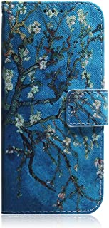 Sunrive fodral PU-läder telefonhölster fodral kortfack plånbok stativ funktion gel magnetiskt skyddande skinn skydd (), al...