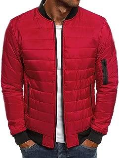 2019 Men's Coat Beautyfine Autumn Winter Down Alternative Warm Jacket Packable Light Quality Tops